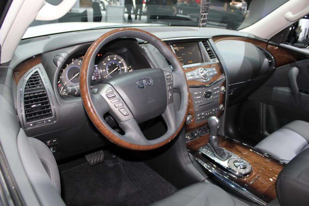2011 QX56 review