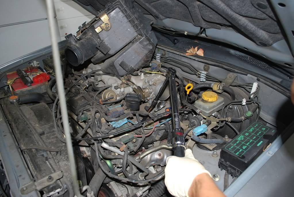 Nissan Pathfinder new spark plugs