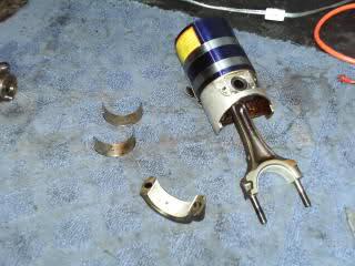 Piston Rings and Rod Bearings