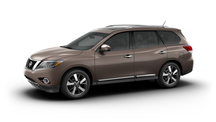 2013 Nissan Pathfinder Mocha Stone