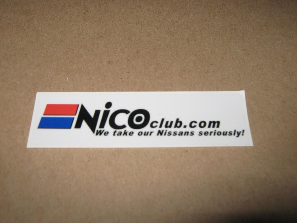 NICOclub stickers