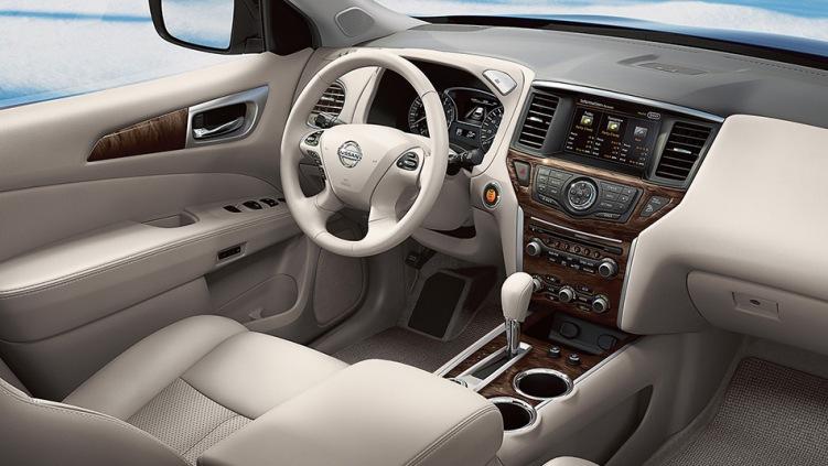 2013 Nissan Pathfinder Console