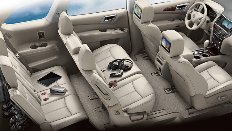 2013 Nissan Pathfinder Seating for Seven