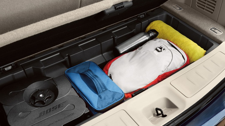 2013 Nissan Pathfinder Cargo Space