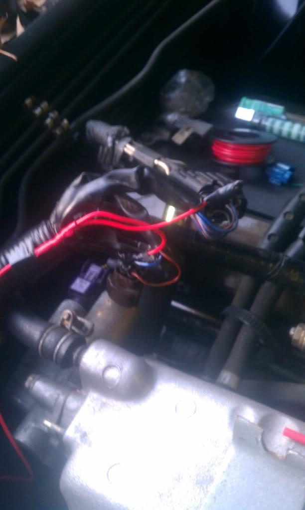 Wiring S13 RB25DET swap