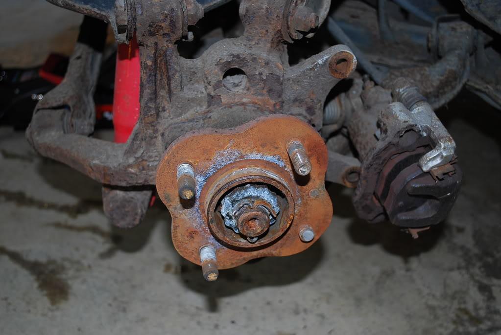 broken wheel stud replacement
