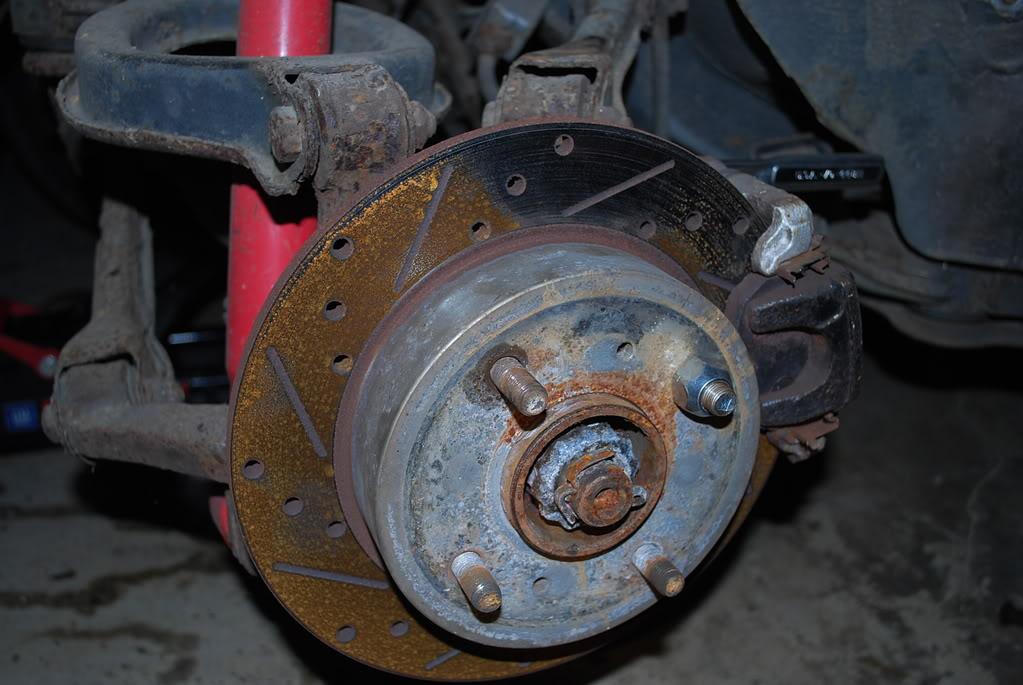 broken wheel lug
