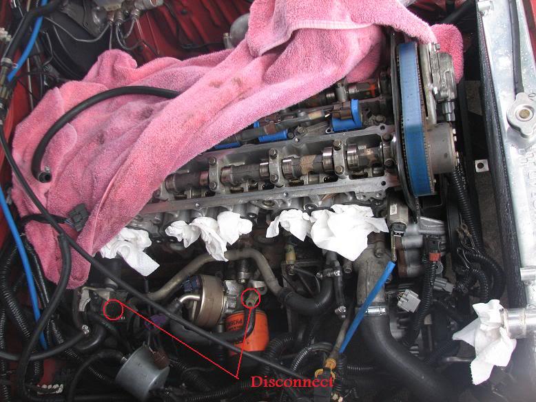 RB20DET oil cooler